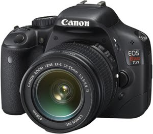 Canon EOS Rebel T2i / 550D DSLR Camera Gets Firmware Update Version 1.0.9