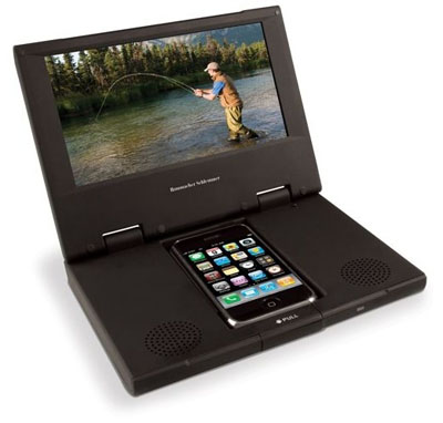 iPhone Screen Enlarger From Hammacher Schlemmer