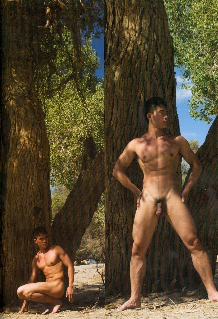 2 boy châu á khoe cặc giữa rừng và giữa xa mạc Chineseoutdoorsx04
