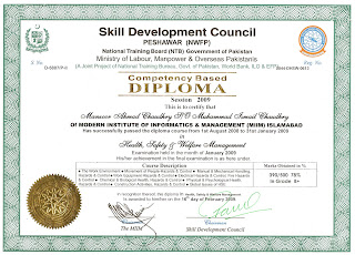 Diploma In Health Safety And Welfare Management 1