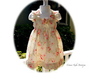 Rose Floral Tea Time Sun Dress