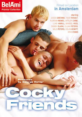 Meet the Bel Ami boys for the release of Cocky Friends