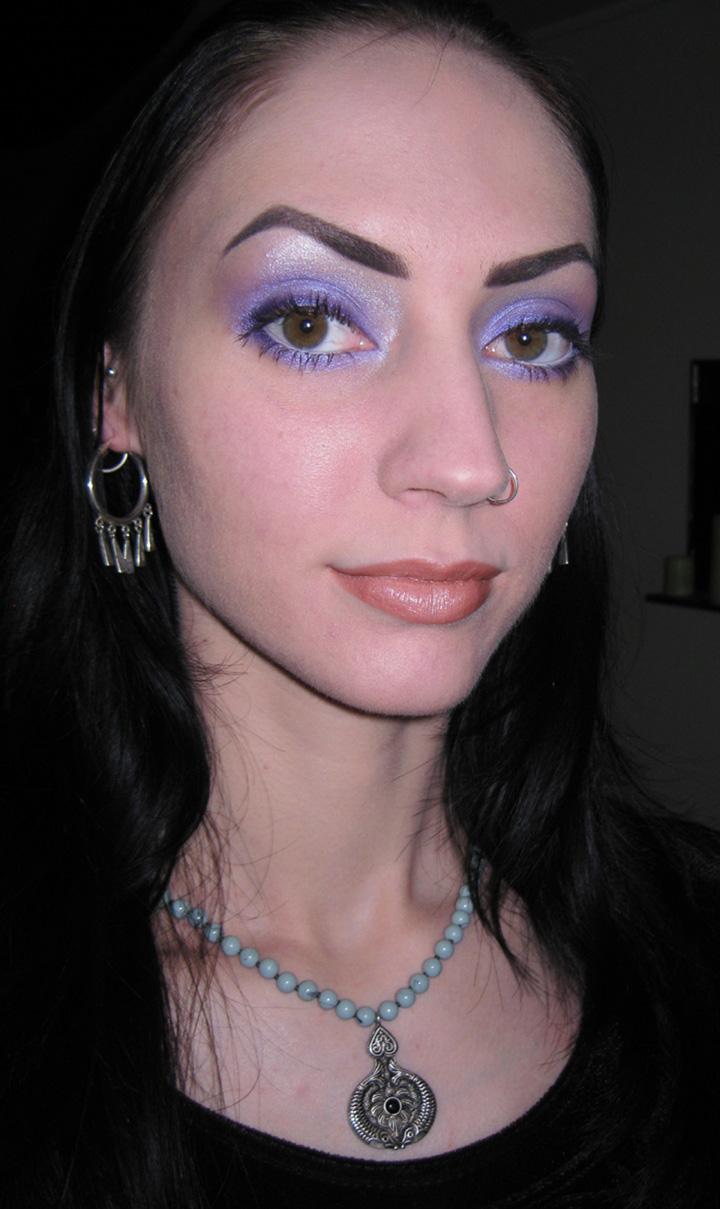 Glitter Is My Crack Simple Purple Look Using Stars Makeup Haven