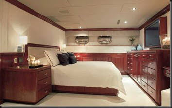 Yacht Interiors Yacht Interiors Give Tiger Woods Seclusion