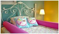 Перила-подушка - ребенок не упадет с кровати и не стукнется о перила