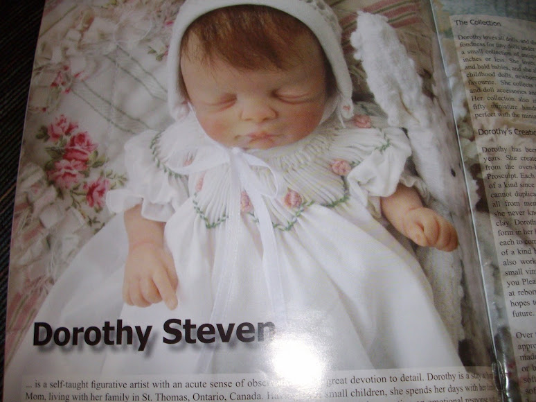 Dorothy Steven baby wearing one of my dresses