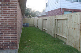 New Fence At Our Home