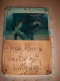 Megan's Twilight Cake - Have a Smokin' Hot Birthday!