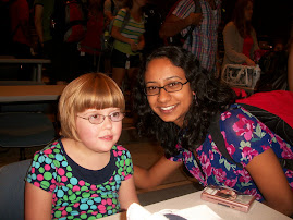 Baylor College Medical Student Chaya with Sarah 9/02