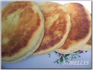 arepas de harina de trigo colombianas