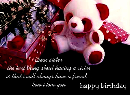 happy birthday cards for sister. Greeting cards on Myspace birthday ecards, free birthday ecards, happy
