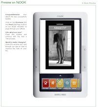 "my modeling memoir Almost 5'4"" on the Nook"