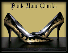 Check out PunkYourChucks Custom shoes
