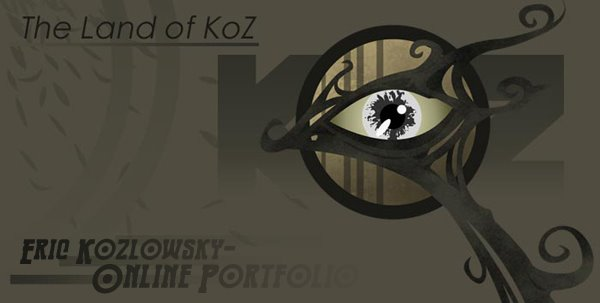 The Online Portfolio of Eric Kozlowsky