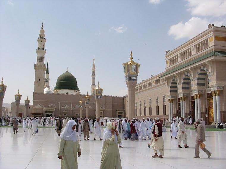 Masjid Nabawi di Madinaah