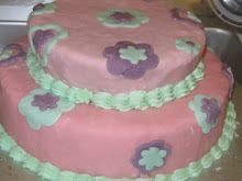PASTELES CON FONDANT