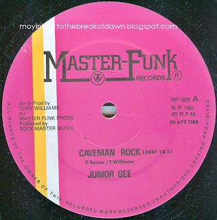 Junior Gee Funk Masters Caveman Rock Scratch The Rock