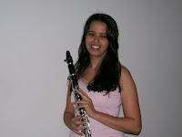 Minha irmã clarinetista...fofa!