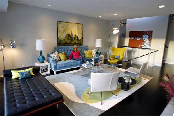 Modern oasis lara spencer fab modern home Lara spencer decorating