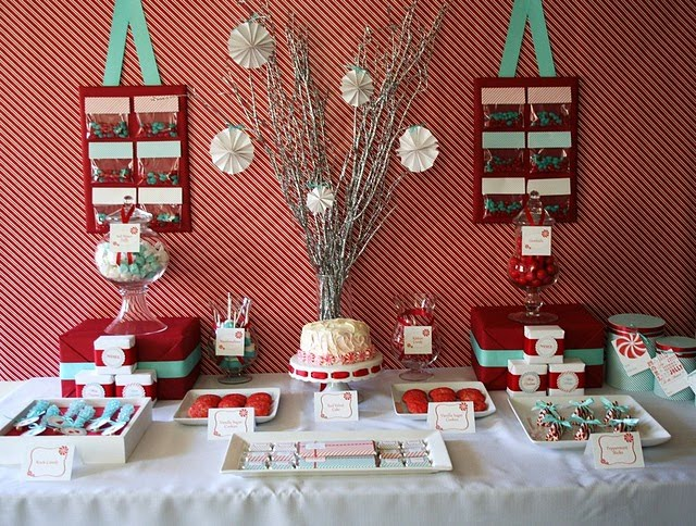 Christmas Dessert Table Ideas I | Almalus Place