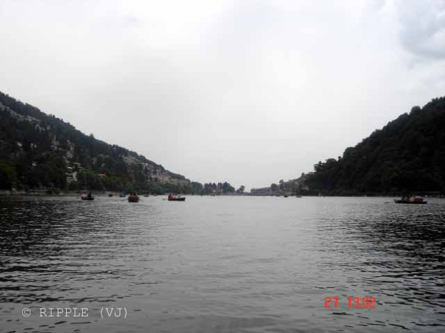 Naini Lake @ Uttrakhand, INDIA: Posted by VJ on PHOTO JOURNEY @ www.travellingcamera.com : VJ, ripple, Vijay Kumar Sharma, ripple4photography, Frozen Moments, photographs, Photography, ripple (VJ), VJ, Ripple (VJ) Photography, VJ-Photography, Capture Present for Future, Freeze Present for Future, ripple (VJ) Photographs , VJ Photographs, Ripple (VJ) Photography, Naianitaal, Uttranahcal. Uttrakhand, INDIA, People, North India : The first story states that Naini Lake was earlier known as 'Tri-Rishi-Sarovar'meaning that lake of the three sages. Three sages - Atri, Pulastya and Pulaha - of the saptirshi group landed in Naintal during a pilgrimage and did not find water to drink. They dig the ground and worshiped there for getting water at the spot.