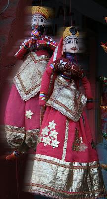 Puppet @ Bapu Market, Jaipur