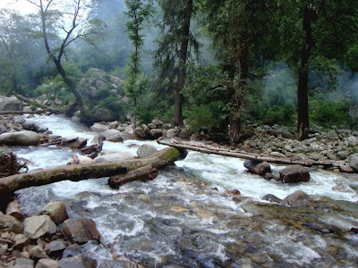 Posted by Ripple (VJ) : Shrikhand River near Singh Ghat @ Shrikhand Mahadev