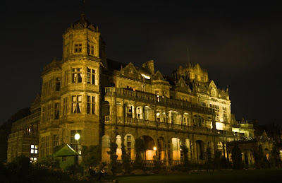 Night View of Viceregal Lodge, Shimla