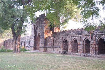 Posted by Ripple (VJ) : A visit to Lodhi Garden, Delhi, INDIA :: Entry gate for The tomb of Mohammed Shah @ Lodhi Garden