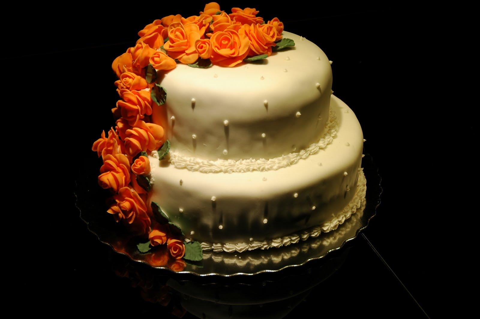 Elona s Cake Walk Two Tier Wedding Cake