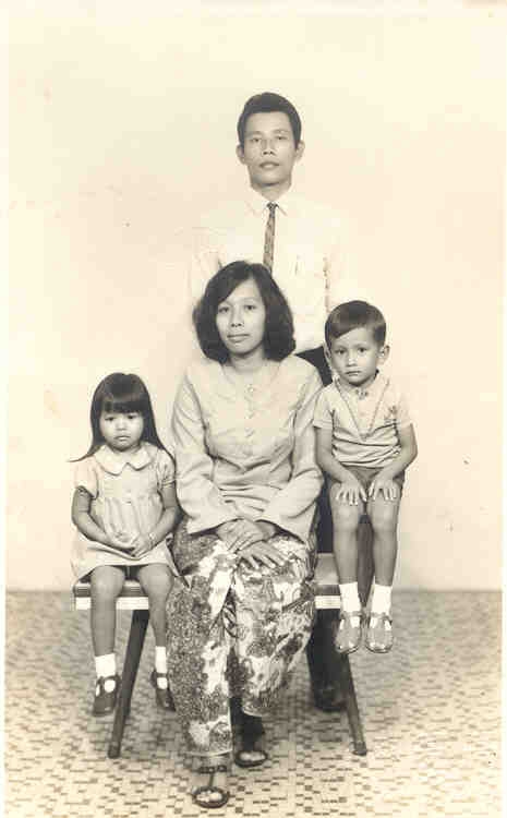 MY MOTHER, FATHER AND SISTER