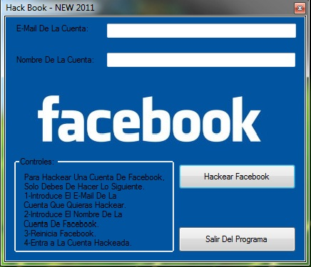 descargar programa para hackear facebook