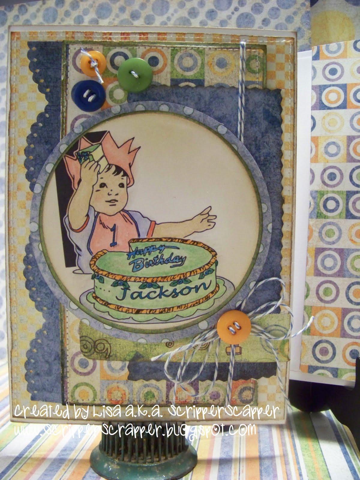 Decorating Ideas > ScripperScrapper Jacksons 1st Birthday ~ 221200_Birthday Party Ideas Jackson Ms