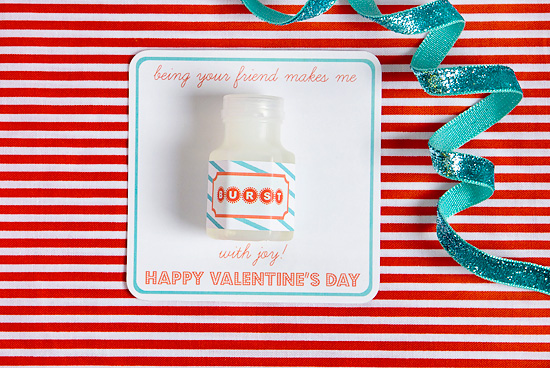 Burst + 21 non candy valentines