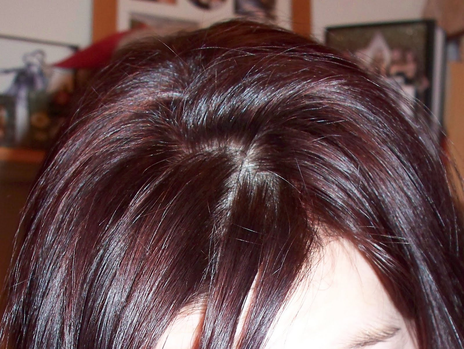 Dark Cherry Coke Hair Color My hair is shiny,