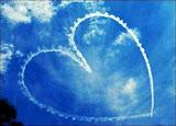 Sky made Lovely Heart