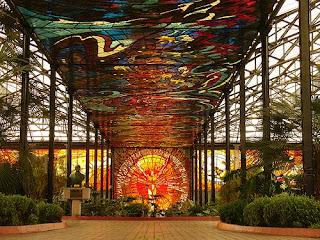 Cosmovitral Jardín Botánico de Toluca, México