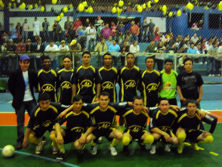 Campeonato Municipal de futsal 2ª Divisão 2010