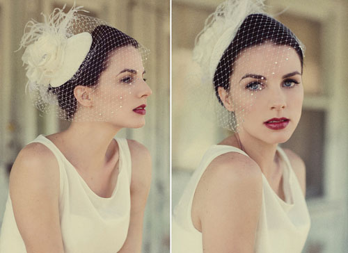 VOGUE BRIDE Vintage Accessories The Birdcage Veil