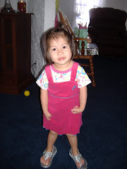 Jie in her princess shoes