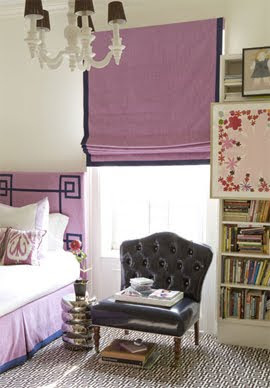 Amanda Nisbet Purple Bedroom