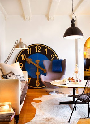 Gary Spain Living Room Giant Clock
