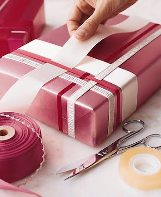 Woven Ribbon Wrap