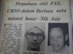 Nik Aziz : Nikmat Besar Jika Berpadu