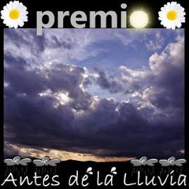 """Premio """"Antes de la lluvia"""""""