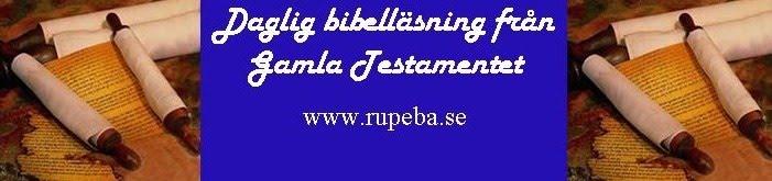 Bibelläsning från Gamla testamentet
