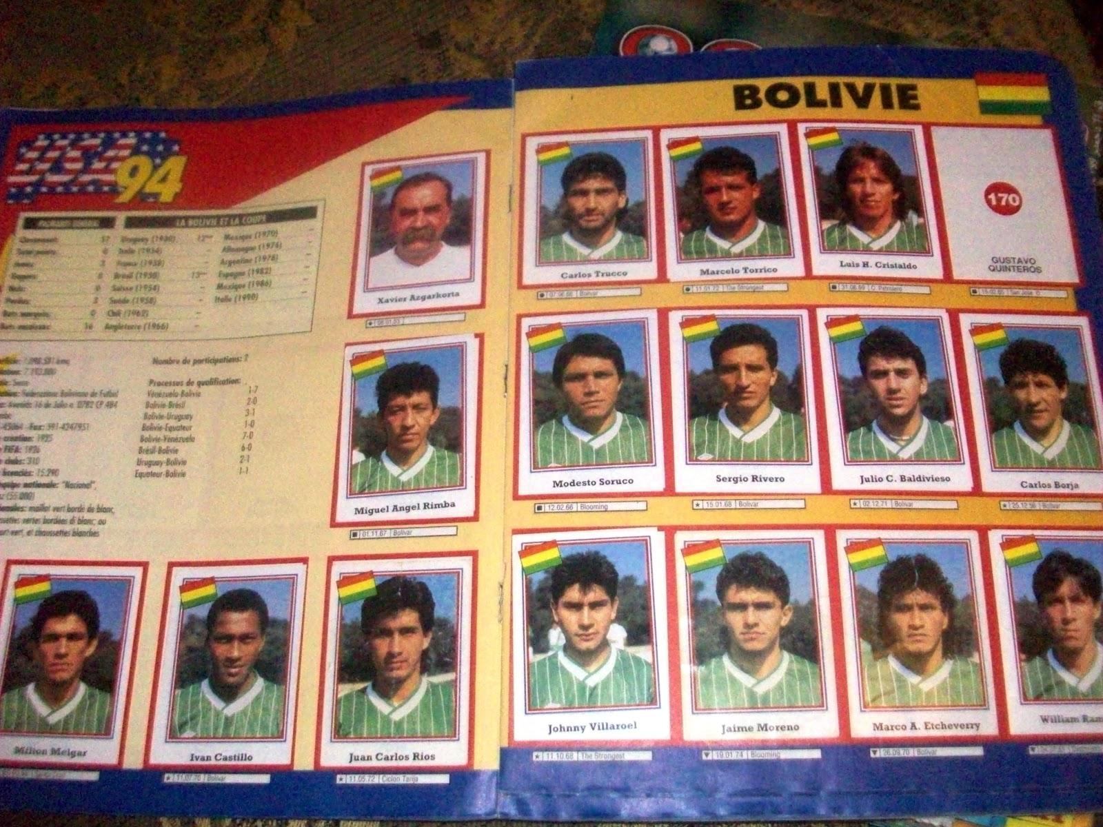 voila une collection des équipes qui ont participer au coupe du monde