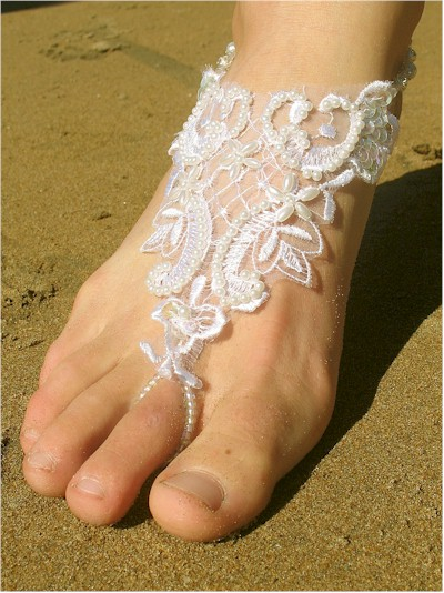 Wonderful Barefoot Beach Wedding Shoes 400 x 534 · 74 kB · jpeg