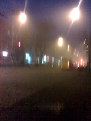 Фото Одесс туман
