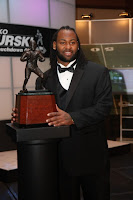 Brandon Spikes Getting Award